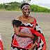 """The King of Swaziland Ritual wife #2: Inkhosikati LaMotsa: """"La Madone"""""""