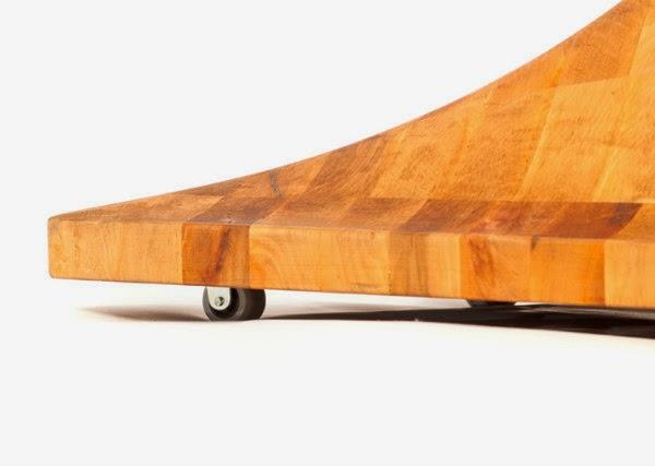 Woobia Wooden Floor Lamp Spicytec