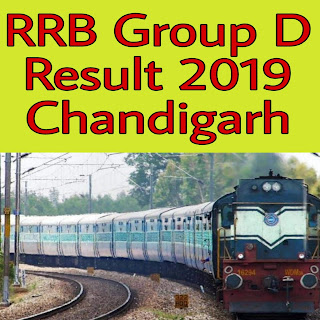 RRB Group D Result Chandigarh 2018-19 exam