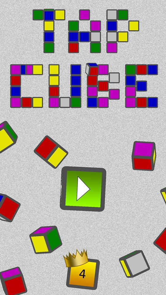 Tap Cube game Overdrive