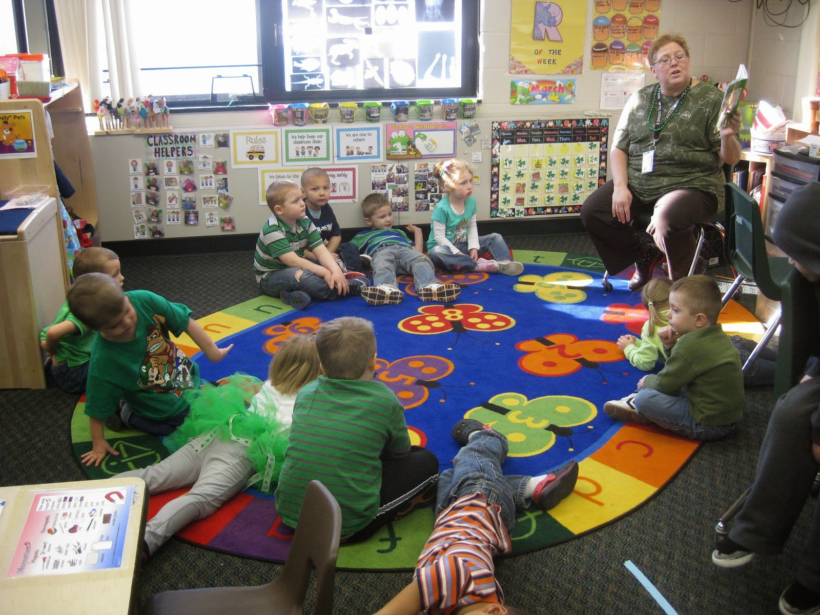 Van Y Preschool Preview: St. Patrick's Day, Spring, Choice ...