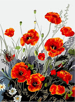 Poppy Flowers Paint by Number