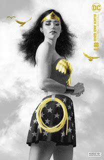 Primeras páginas de Wonder Woman Black & Gold #1