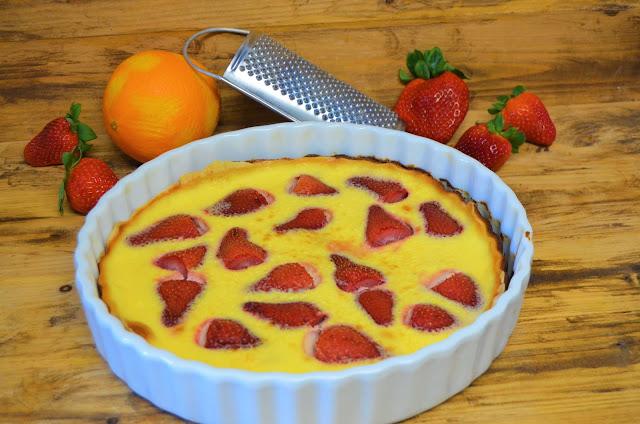 Las delicias de Mayte, recetas saludables, recetas de postres, recetas, tarta de fresas y yogurt, recetas de comida, postres recetas, recetas de cocina, postres con yogurt, postres con fresas,