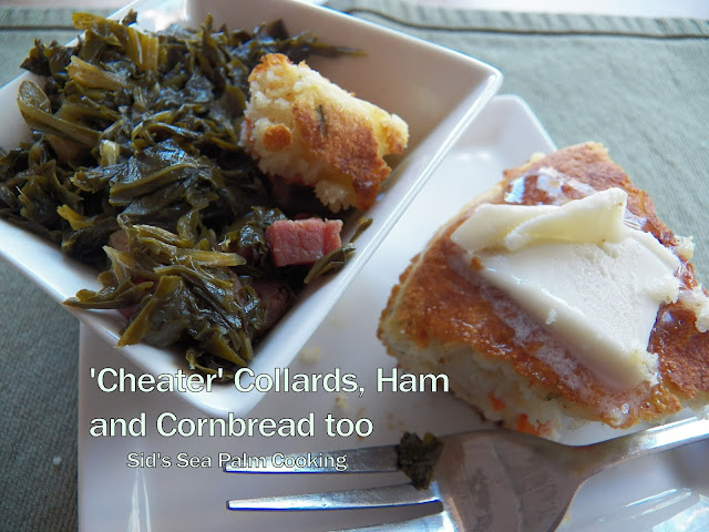 'Cheater' Collards and Ham