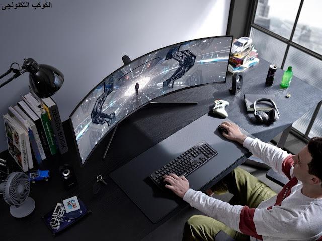 تعرف على شاشة الألعاب المنحنية الجديدة من سامسونج 2020 -  Odyssey G7 and G9