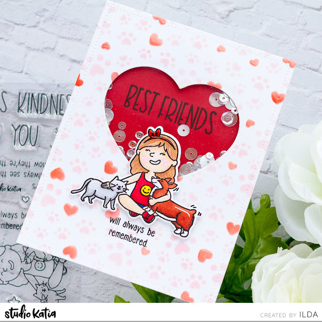 Paws for Kindness Blog Hop + Giveaway   Best Fur Friend Cards   Studio Katia by ilovedoingallthingscrafty.com