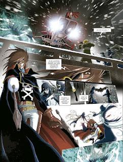 Capitán Harlock, Memorias de la Arcadia - Letrablanka.