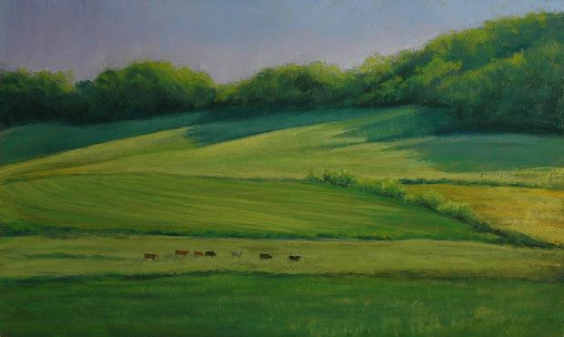 pastel landscape paintings susan