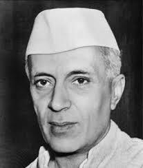 Pandit Jawaharlal Nehru first prime minister of India