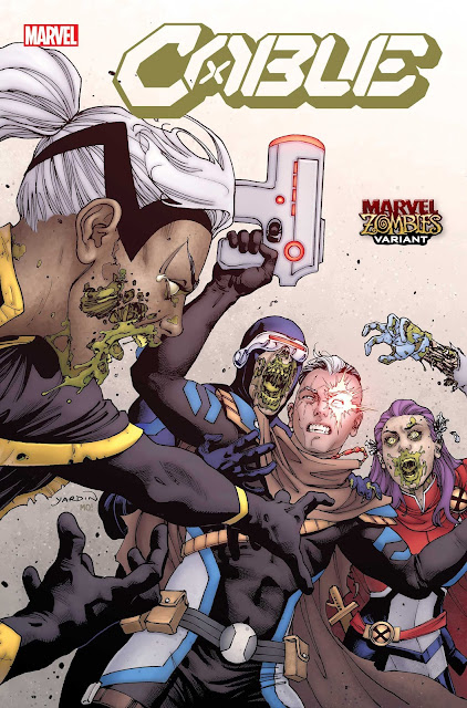Marvel Zombies Resurrection - variant cover