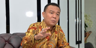 Soal Pembubaran FPI, Dasco: Jangan Gerindra Aja Dong Yang Ditanya