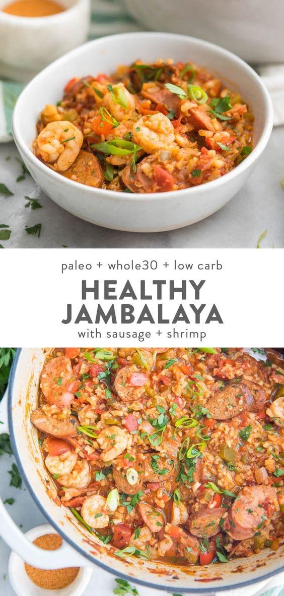 Healthy Jambalaya