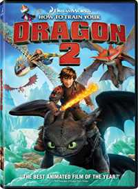 How to Train Your Dragon 2 (2014) Hindi - Telugu - Tam - Eng 400mb Download BluRay