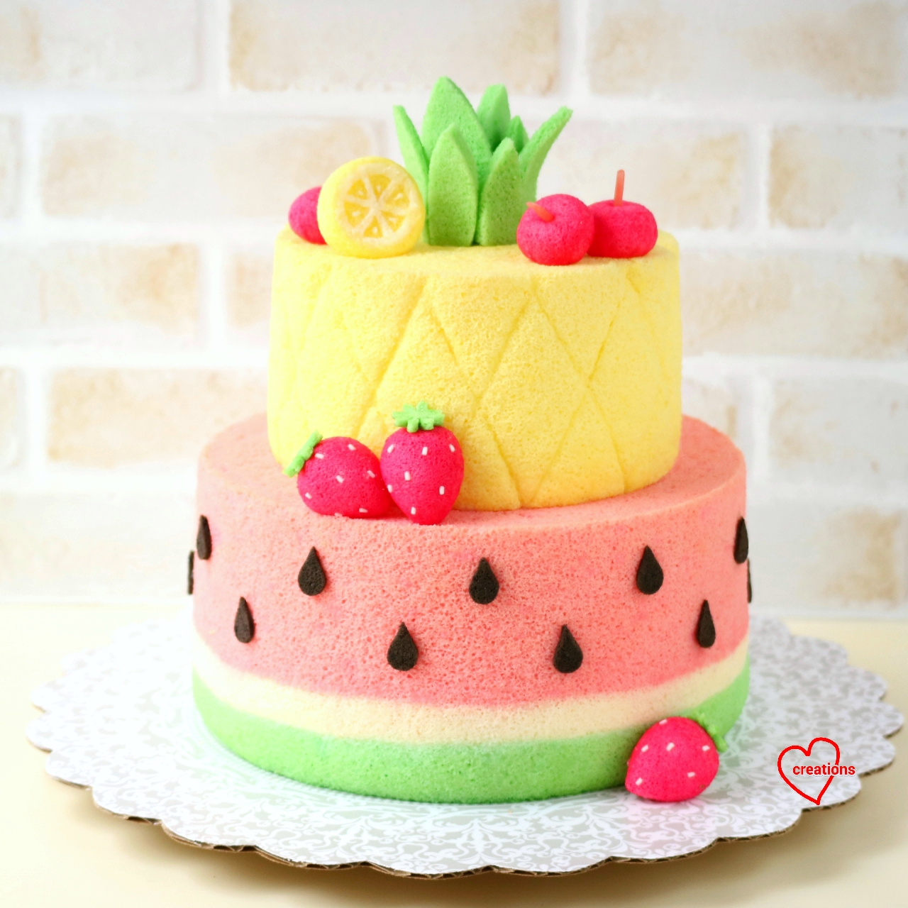 Watermelon Tier Cake