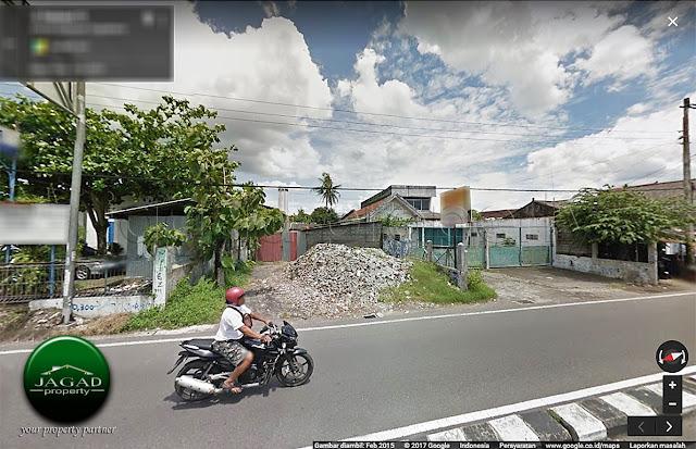 Tanah tepi ringroad Maguwoharjo dekat Bandara