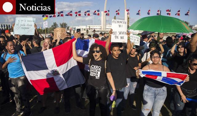 JCE, protestas