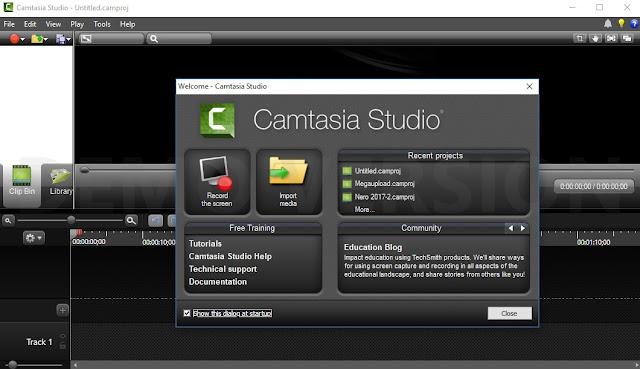 Camtasia 2018 bản quyền 2019 - phần mềm chỉnh sửa quay video màn hình chuyên nghiệp
