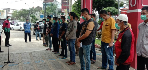Program Asimilasi Warga Lapas Klas IIA ,22 Warga Binaan Bebas