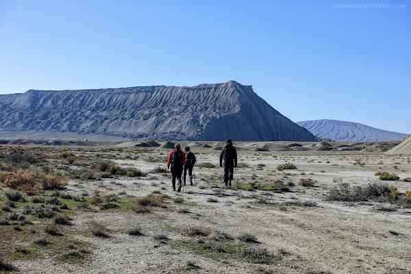 На подходе к Джингирдагу с северо-восточной стороны
