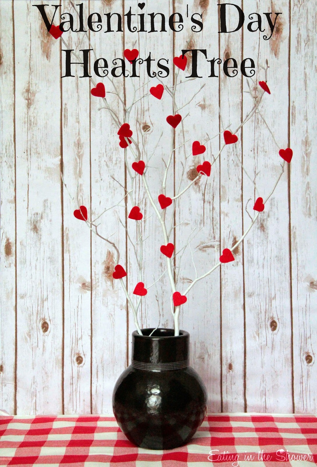 Valentine's Day Hearts Tree