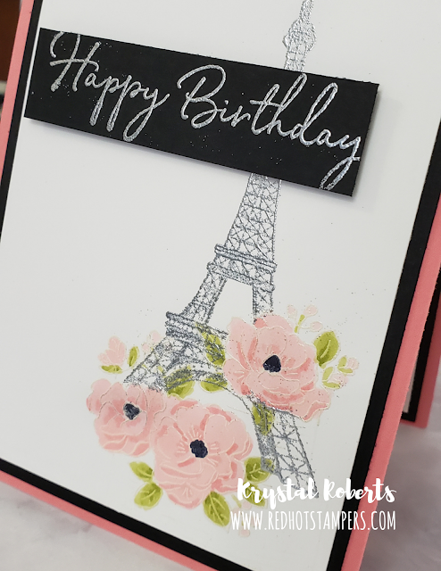 Stampin' Up! Parisian Beauty | Happy Birthday to You