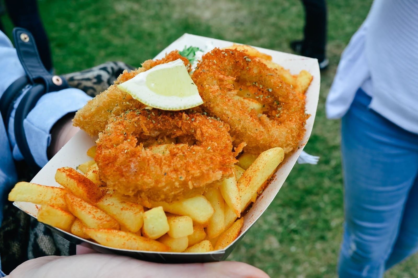 Mudeford Seafood Festival Review | Greek Calamari
