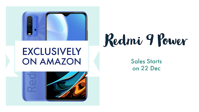 Redmi 9 Power to go on Sale from December 22 on Amazon