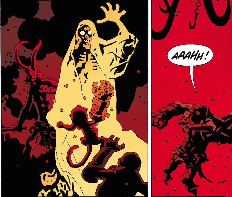 Hellboy in Hell #2. Hellboy created by Mike Mignola Colors: Dave Stewart Letters: Clem Robins Design: Cary Grazzini.