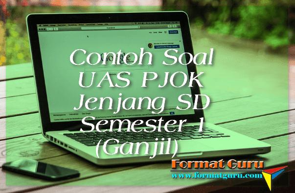 Contoh Soal UAS PJOK Jenjang SD Semester 1 (Ganjil)