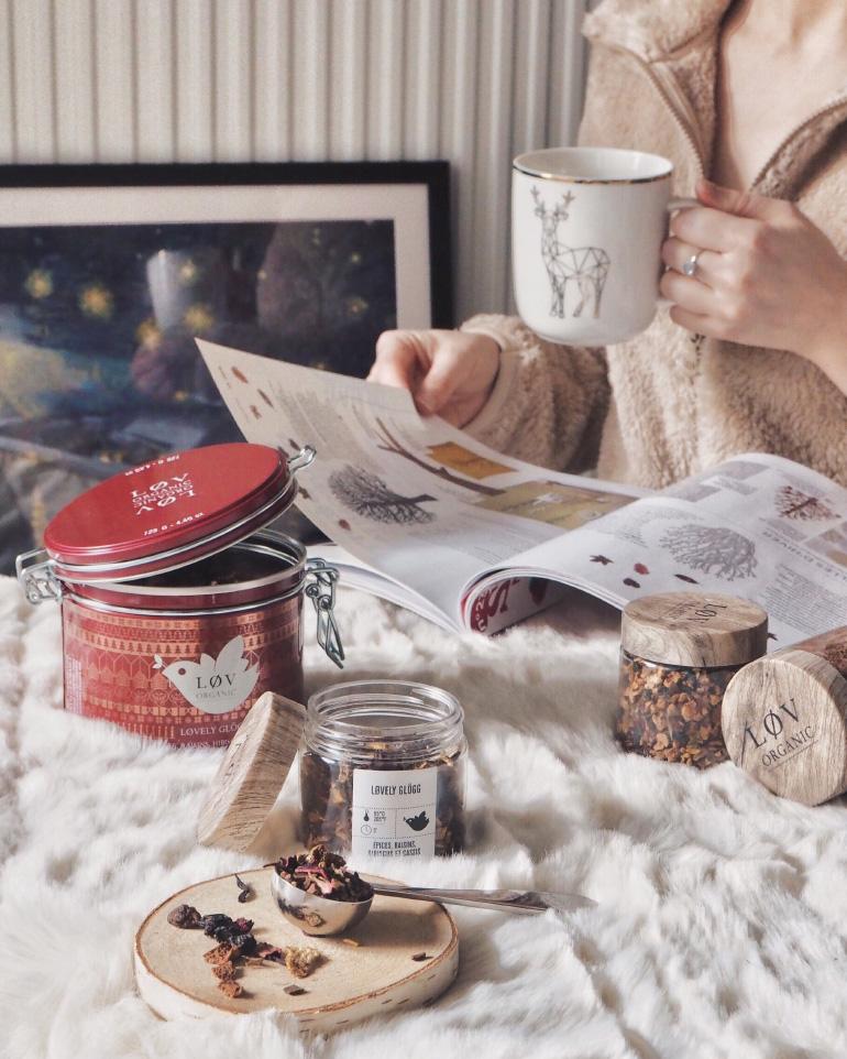 Profiter de l'hiver - tea time cocooning