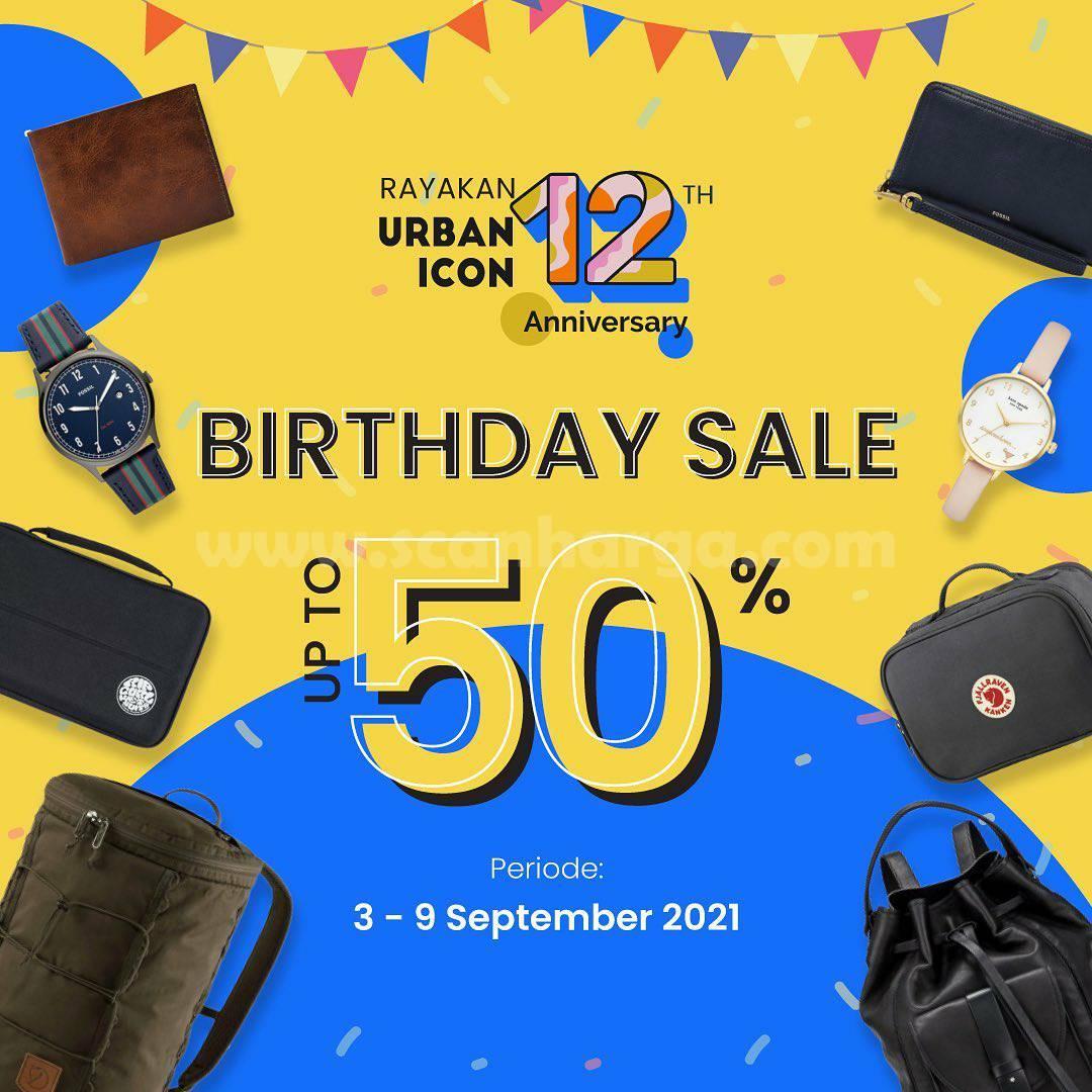 URBAN ICON Promo BIRTHDAY SALE up to 50%