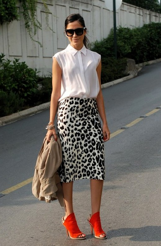 I want pretty LOOK- Falda Lu00e1piz/ Pencil Skirt Outfits!