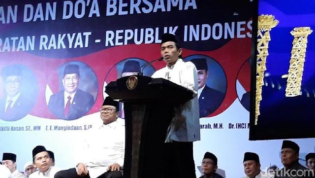 Ustaz Somad Ajak Masyarakat tidak Golput di Tahun Politik