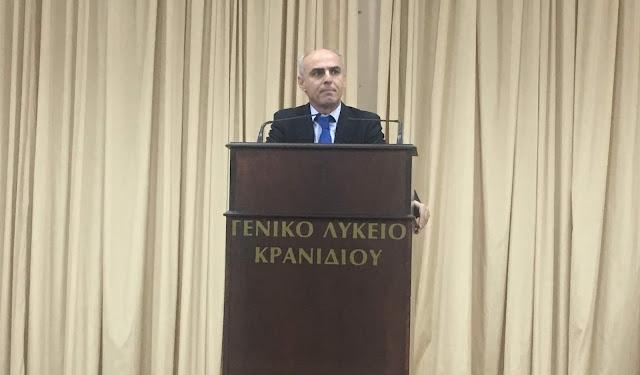 Ο Γ. Γαβρήλος μίλησε στο Σωματείο Ξενοδοχοϋπαλλήλων Ερμιονίδας για τις νέες εργασιακές και ασφαλιστικές ρυθμίσεις