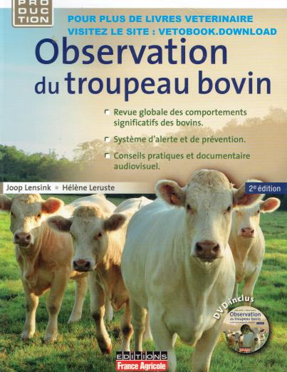 Observation du troupeau bovin 2éme édition - WWW.VETBOOKSTORE.COM