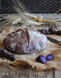 Cách làm bánh mì khoai lang tím thay thế bánh mì trắng 3