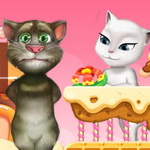 لعبة القطة انجيلا وحبيبها