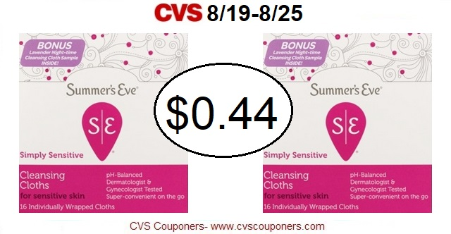http://www.cvscouponers.com/2018/08/hot-summers-eve-cleansing-cloths-only.html