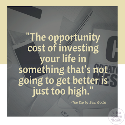 The Dib by Seth Godin opportunity cost quote