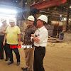 Dede Farhan Aulawi Lakukan Investigasi Kecelakaan Kerja di Industri Pengecoran Logam