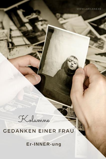 Erinnerung einer Frau