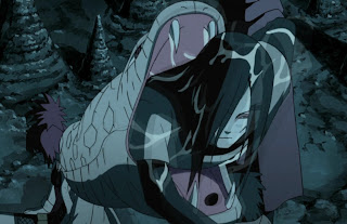 Orochimaru Hidup kembali dengan kutukannya