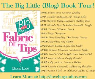 Fabric Die Cutting Tips blog tour