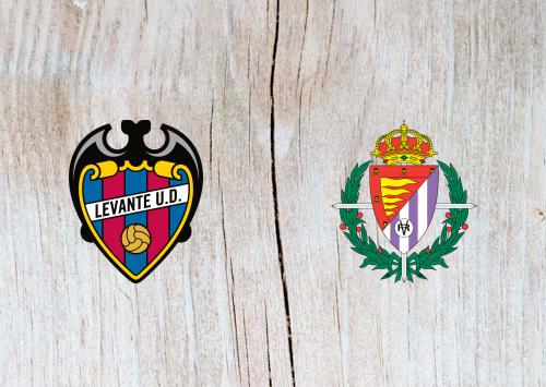 Levante vs Real Valladolid - Highlights 20 January 2019