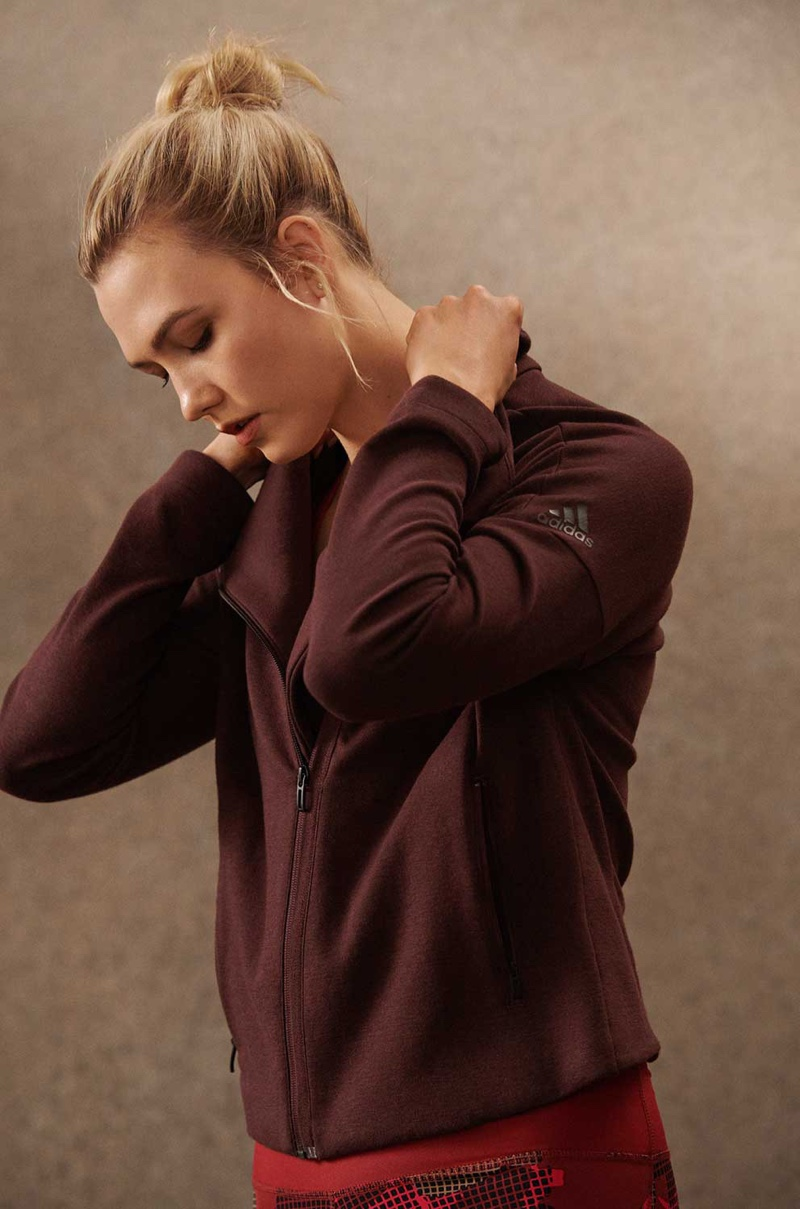 Karlie Kloss fronts adidas Statement Collection campaign