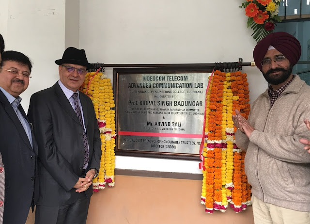 Connect Broadband establishes 'Videocon Advanced Communication Lab' at Guru Nanak Dev Engineering College, Ludhiana