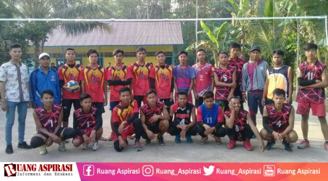 Ciptakan Prestasi, IKANURIS Gelar Tournament Volly Ball