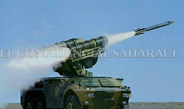 ⭕️ ورد الآن | وحدات الجيش الصحراوي تستهدف منطقة الگرگرات بأربع صواريخ.
