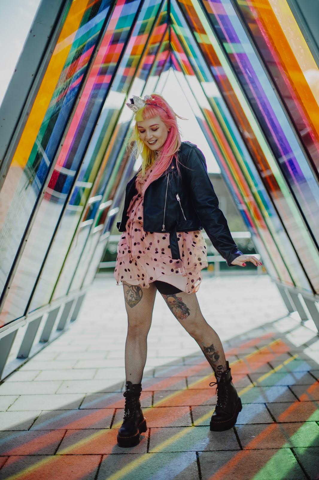 Harajuku inspired fashion blogger foxxtailz